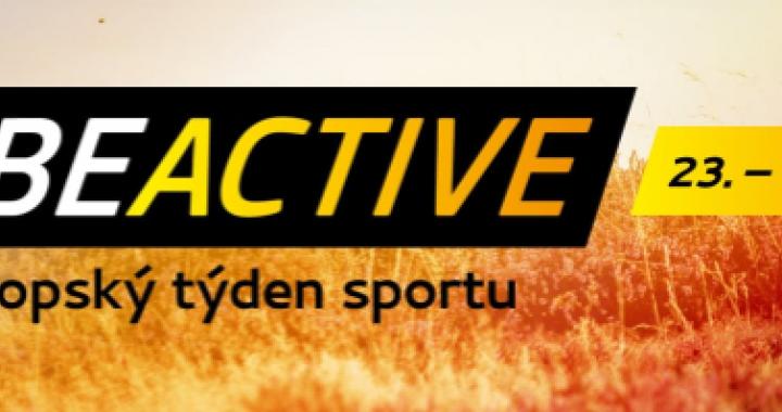 Připojte se k zářijovému Evropskému týdnu sportu
